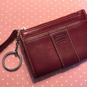 Coach change purse mini wallet